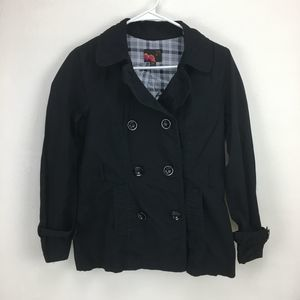Forever 21 Small Black Button Up Jacket